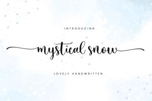 Mystical Snow
