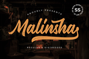 Malinsha Distressed