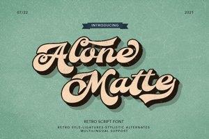 ALONE MATTE