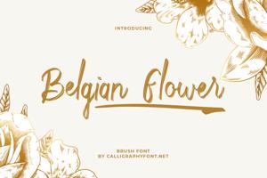 Belgian Flower