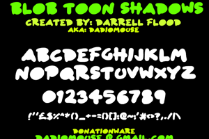 Blob Toon Shadows