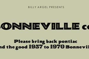 BONNEVILLE co.