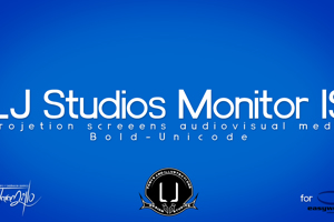 LJ Studios Monitor Large IS