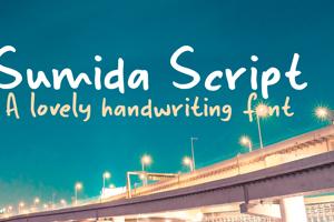 Sumida Script