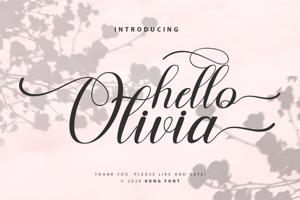 Hello Olivia