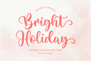 Bright Holiday