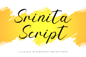 Srinita Script