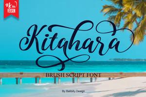 Kitahara Brush Script