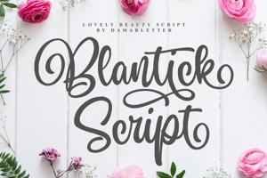 Blantick Script