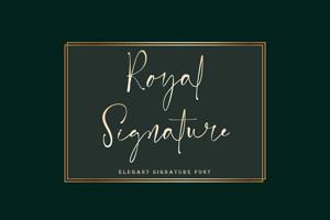 Royal Signature