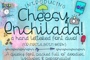 Cheesy Enchilada Doodles