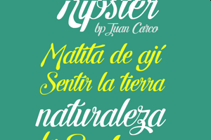 Letra Hipster