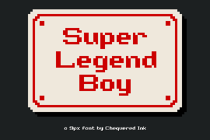 Super Legend Boy