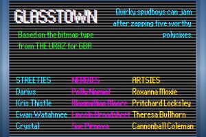 Glasstown NBP