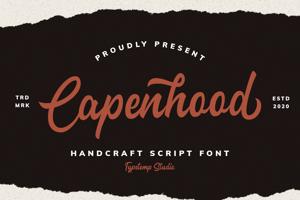 Capenhood Hand Letter Font