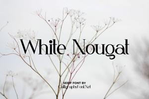 White Nougat