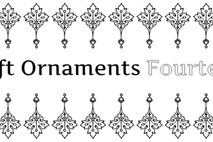Soft Ornaments Fourteen