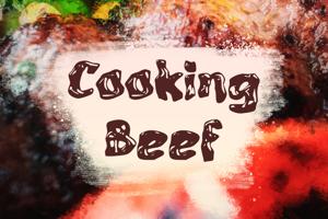 c Cooking Beef