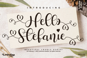 Hello Stefanie