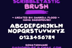 Scribbletastic Brush