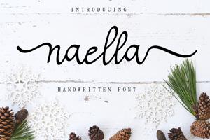 Naella Handwritten Font