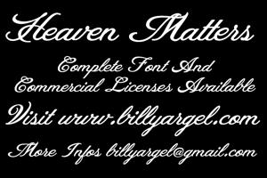 Heaven Matters