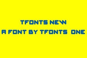 TFonts New