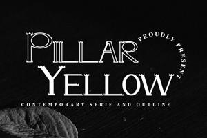 Pillar Yellow