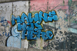MAWNS' Graffiti Filled