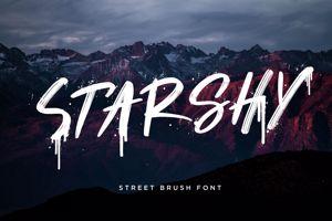 Starshy Street Brush