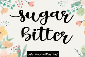Sugar Bitter