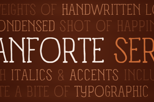 Panforte Serif