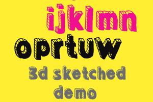 Sketched 3D