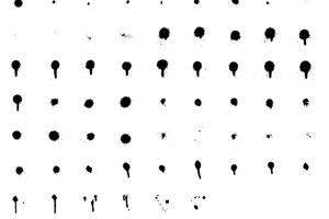 Drips Splatters