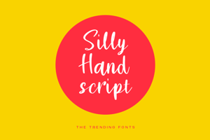 Silly Hand Script
