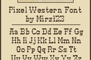 Pixel-Western