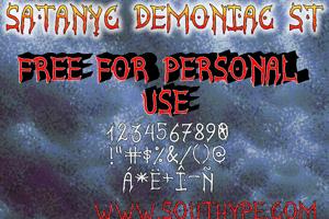 Satanyc Demoniac St