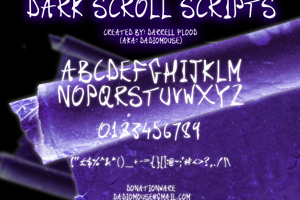 Dark Scroll Scripts