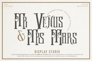 Mr. Venus & Mrs. Mars