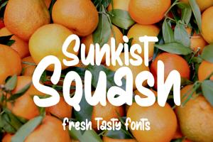 Sunkist Squash
