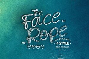 Face Rope Detiled Inside