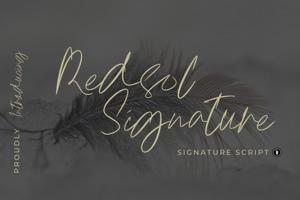 Redsol Signature