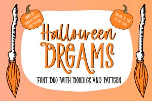 Halloween Dreams Doodles