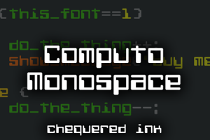Computo Monospace