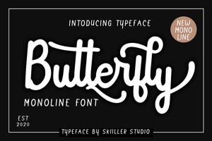 Butterfly Monoline