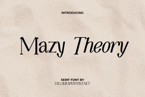 Mazy Theory