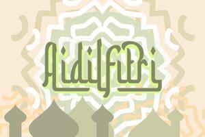 a Aidilfitri