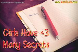 Girls Have Many Secrets