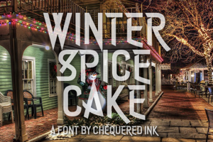 Winter Spice Cake