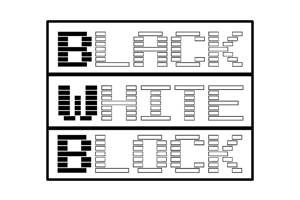 Black White Block